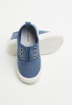 POP CANDY - Canvas slip on - blue
