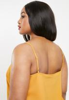 Missguided - Curve cami dress - yellow