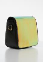 POP CANDY - Galaxy box sling bag - green & orange