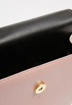 Superbalist - Jillian faux leather bag - pink