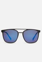 Superbalist - Metal T-bar sunglasses - blue