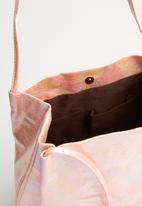 STYLE REPUBLIC - Metallic bucket bag - pink