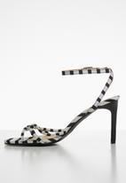 Superbalist - Charlie heel - black & white