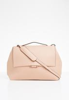 STYLE REPUBLIC - Leather-look shoulder bag - pink