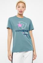 Converse - Star chevron remix tee - blue