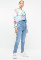 Missguided - Tie dye graphic sweatshirt - multi