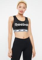 Reebok - CL v bra - black
