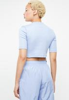 adidas Originals - Kylie Jenner cropped T-shirt - blue
