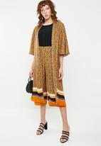STYLE REPUBLIC - Oversized kimono - multi