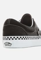 Vans - Vans Era - (Check Foxing) black/true white