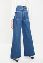 ONLY - Alisia super wide denim jeans - blue