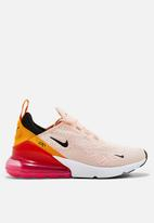 Nike - Nike Air Max 270 - washed coral / black - laser fuchsia