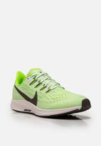 Nike - Air Zoom Pegasus 36 - Phantom/ ridge-rock - electric green