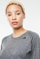 adidas - Tech prime long sleeve tee - grey