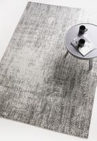 Sixth Floor - Misty chenille rug - grey