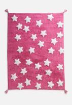 Sixth Floor - Starry kids rug - pink