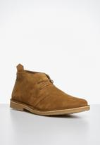 Jack & Jones - Jfwgobi suede - tan