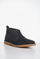 Jack & Jones - Jfwgobi suede - navy
