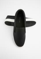 New Look - Snake slip on - black