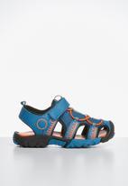 POP CANDY - Cage sandal - blue & orange