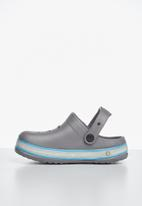 POP CANDY - Light up clog - grey & blue