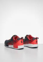 POP CANDY - Flames velcro strap sneaker - navy & red