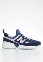 New Balance  - 574 Sport Patch work pack - navy