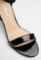 Superbalist - Ella court heel - black