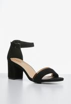 Superbalist - Isabel block heel - black
