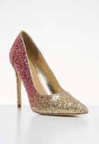 Madison® - Glitter stiletto heel - gold & pink