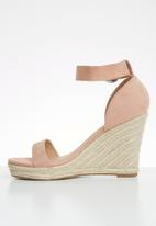 ONLY - Amelia heeled cap sandal - pink