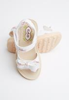POP CANDY - Girls sandals - white