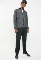 Nike - Nsw tech pack jacket grid - black & white