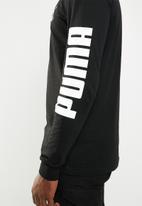 PUMA - Classics logo long sleeve tee - black