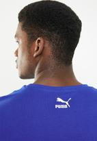 PUMA - Graphic short sleeve xtg tee - blue