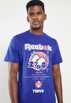 Reebok Classic - Classic sushi tee - blue