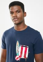 STYLE REPUBLIC - Printed tee - navy