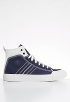 Diesel  - S-astico mid lace - white & navy