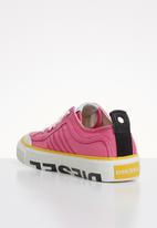Diesel  - S-astico lc logo w - pink carnation