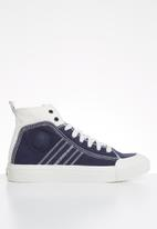 Diesel  - S-astico mid lace w - star white & peacoat