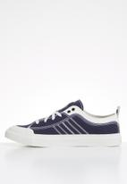 Diesel  - S-astico low lace - white & navy