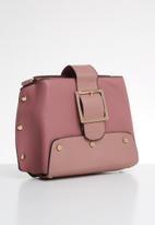 Superbalist - Stud detail cross body bag - pink