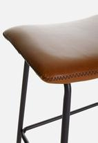 Sixth Floor - Kali kitchen stool - brown
