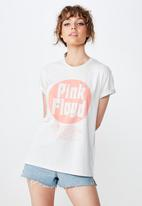 Cotton On - Classic pin pink floyd tee  - grey