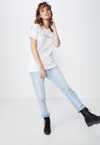 Cotton On - Classic slogan new york tee  - white