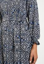 ONLY - Lara long sleeve dress - multi
