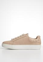 ONLY - Sage pearl sneaker - pink