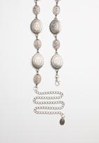 Superbalist - Vintage chain belt - silver