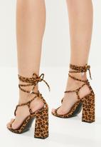 Superbalist - Lindy strappy heel - multi
