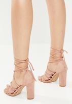 Superbalist - Zen strappy heel - pink